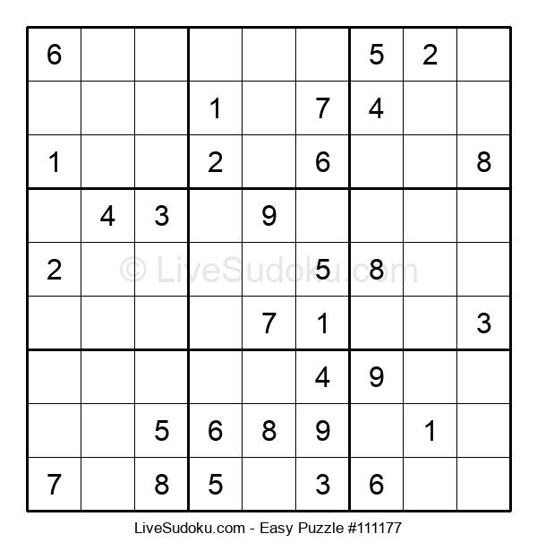 Beginners Puzzle #111177