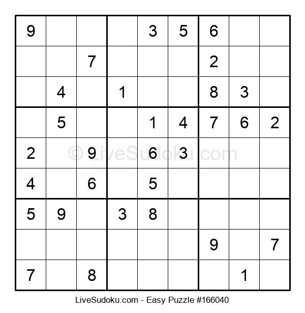 Beginners Puzzle #166040