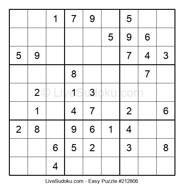 Beginners Puzzle #212806