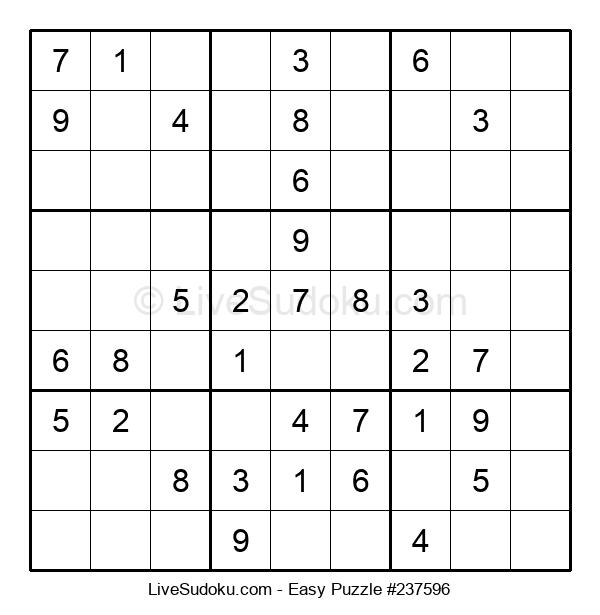 Beginners Puzzle #237596