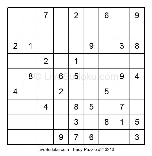 Beginners Puzzle #243210
