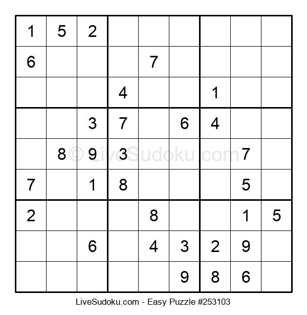 Beginners Puzzle #253103