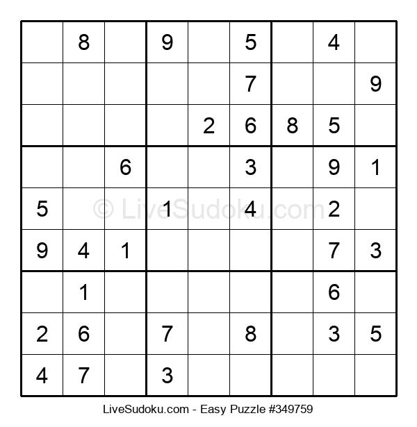 Beginners Puzzle #349759