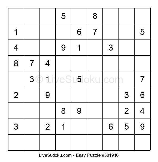 Beginners Puzzle #381946