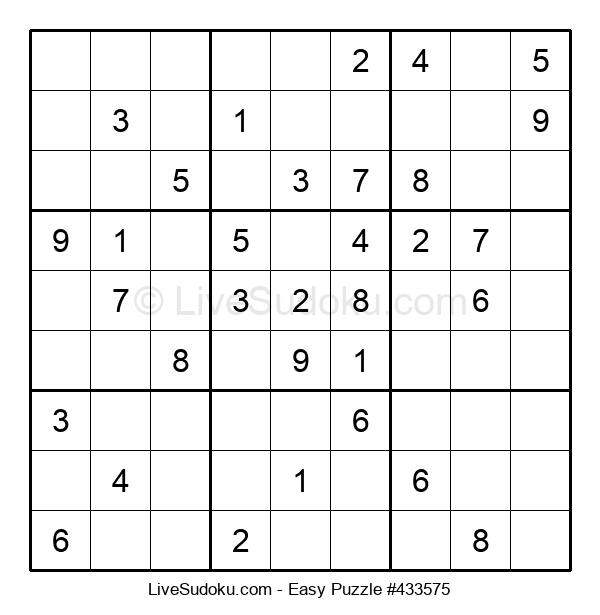 Beginners Puzzle #433575