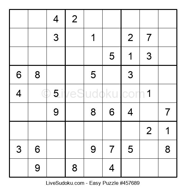 Beginners Puzzle #457689