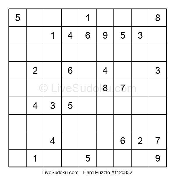 Hard Puzzle #1120832