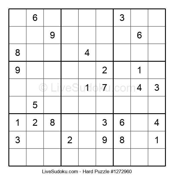 Hard Puzzle #1272960