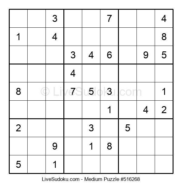Medium Puzzle #516268