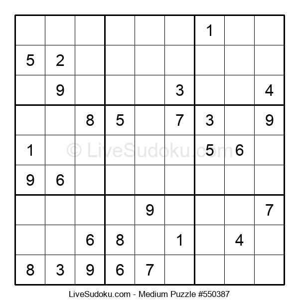Medium Puzzle #550387