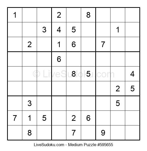 Medium Puzzle #595655