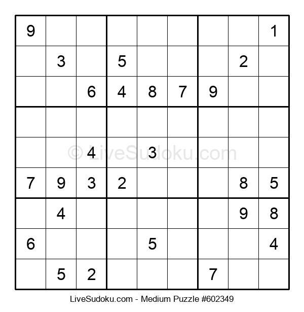 Medium Puzzle #602349