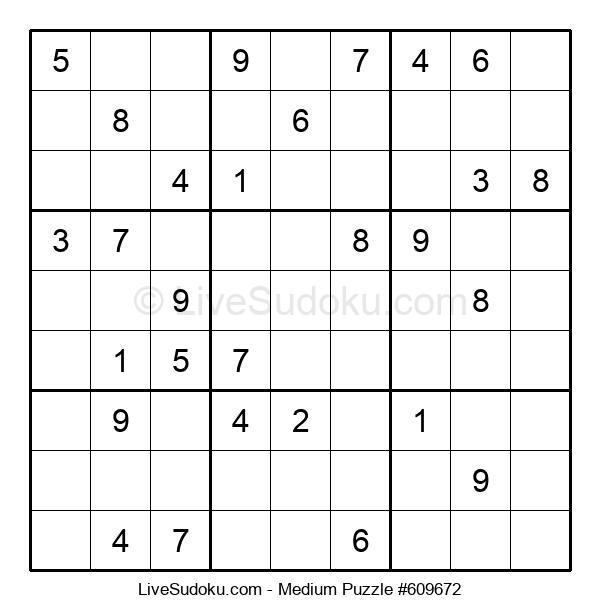 Medium Puzzle #609672