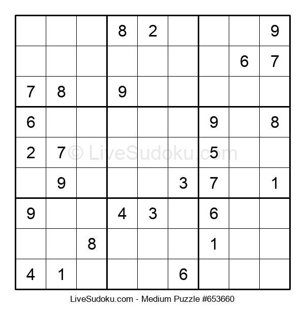 Medium Puzzle #653660