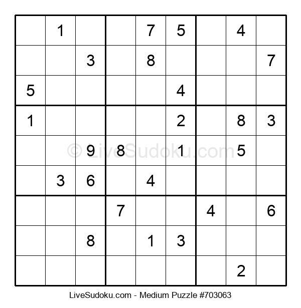 Medium Puzzle #703063