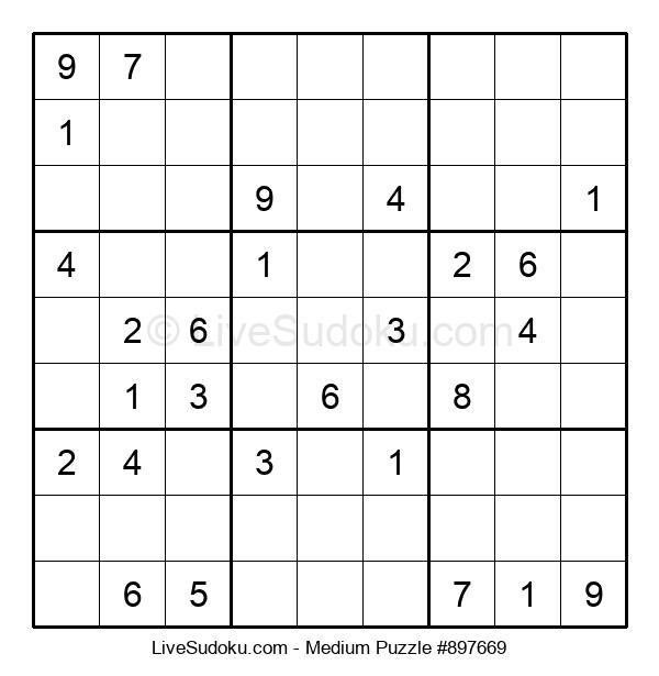 Medium Puzzle #897669