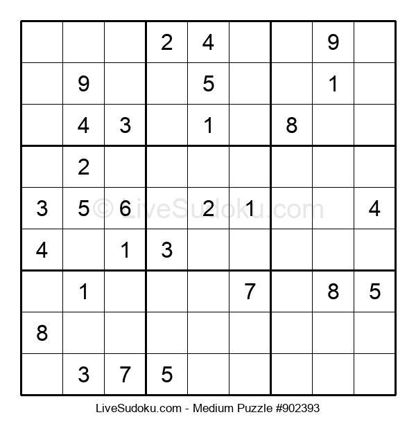 Medium Puzzle #902393