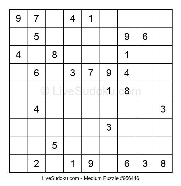 Medium Puzzle #956446