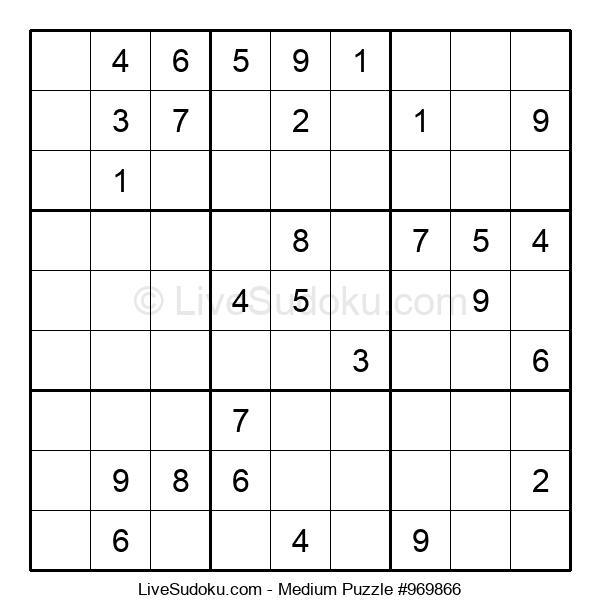Medium Puzzle #969866