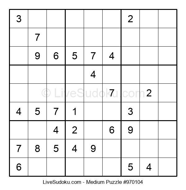 Medium Puzzle #970104