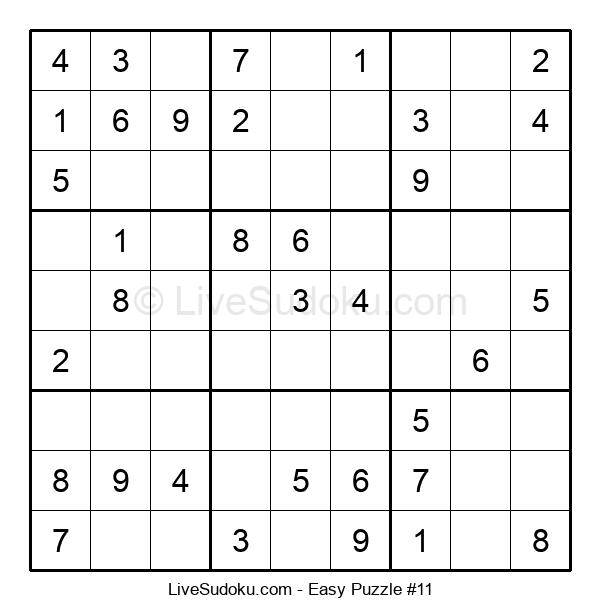 Beginners Puzzle #11