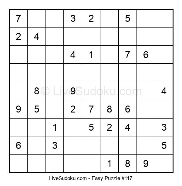 Beginners Puzzle #117