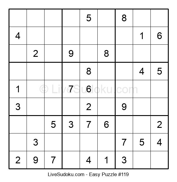 Beginners Puzzle #119