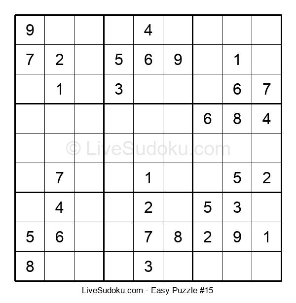 Beginners Puzzle #15