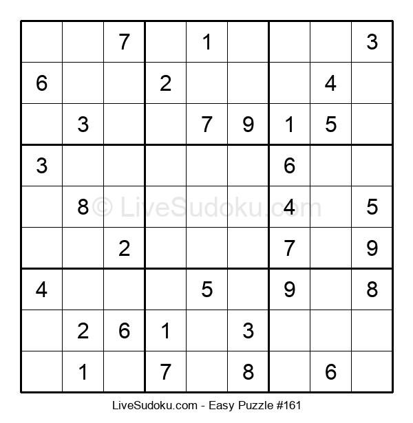 Beginners Puzzle #161