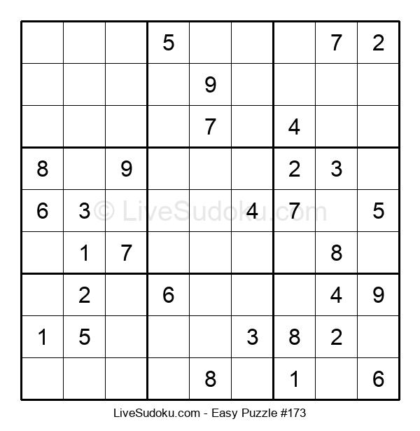 Beginners Puzzle #173