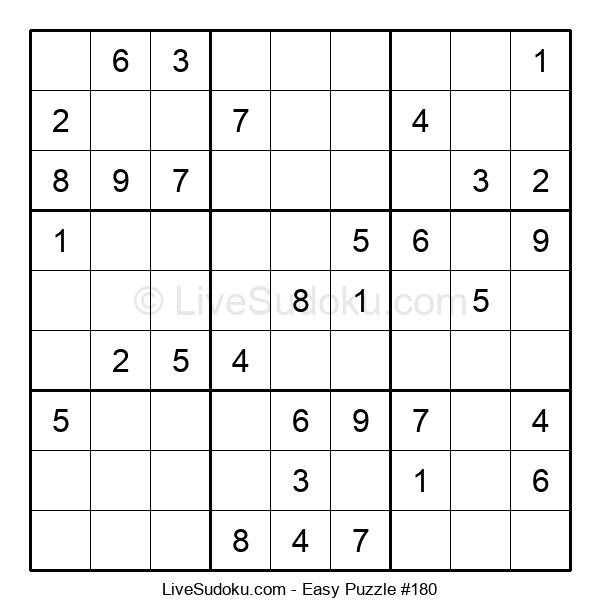 Beginners Puzzle #180