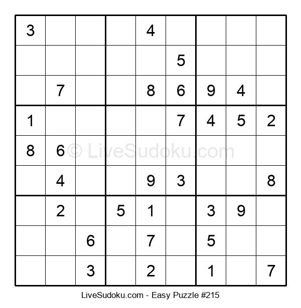 Beginners Puzzle #215