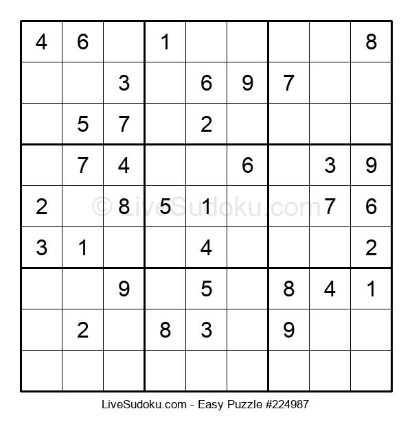 Beginners Puzzle #224987