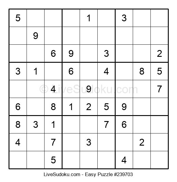 Beginners Puzzle #239703