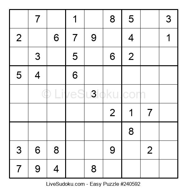Beginners Puzzle #240592