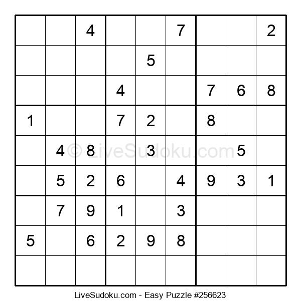 Beginners Puzzle #256623