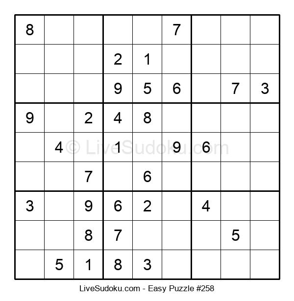 Beginners Puzzle #258