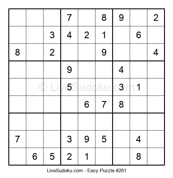 Beginners Puzzle #261
