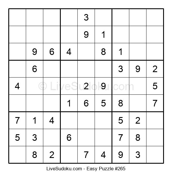 Beginners Puzzle #265