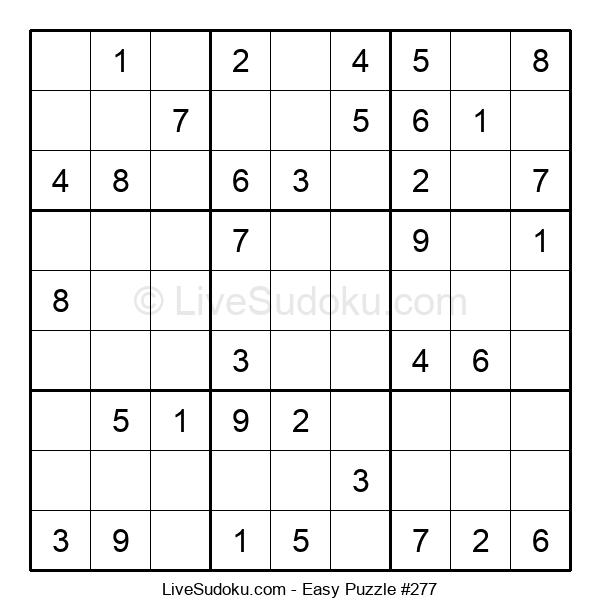 Beginners Puzzle #277