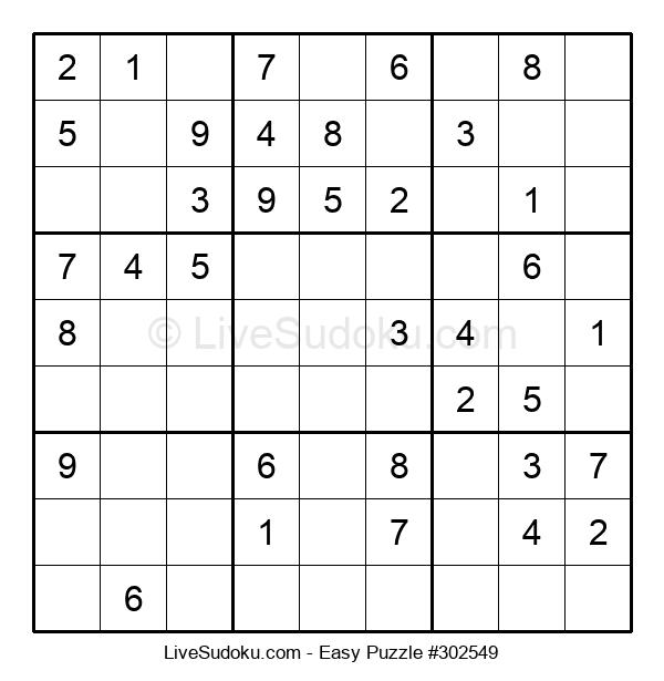 Beginners Puzzle #302549