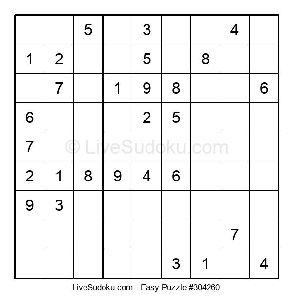 Beginners Puzzle #304260