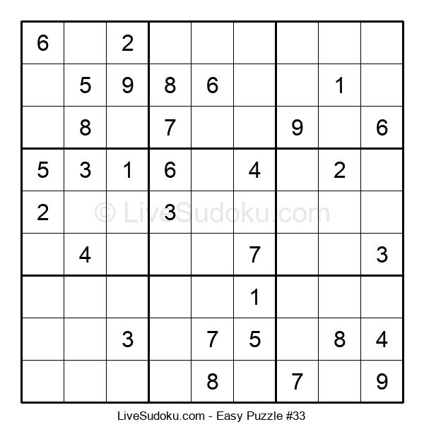 Beginners Puzzle #33