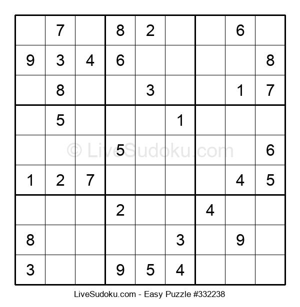 Beginners Puzzle #332238