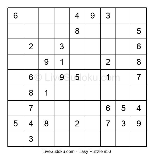 Beginners Puzzle #36