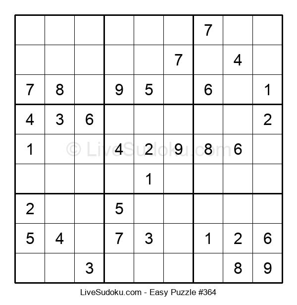 Beginners Puzzle #364