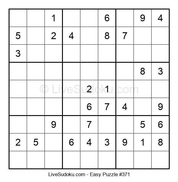 Beginners Puzzle #371