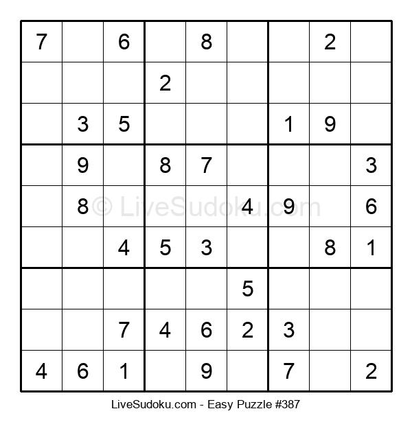 Beginners Puzzle #387