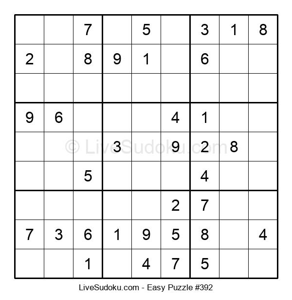 Beginners Puzzle #392