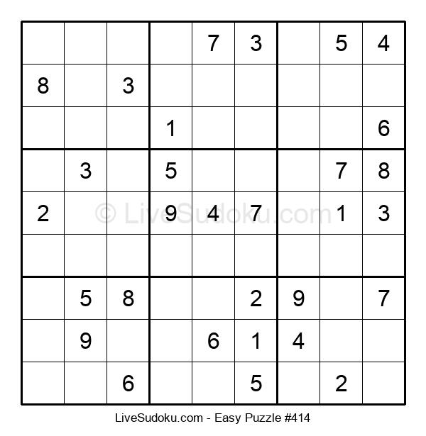 Beginners Puzzle #414